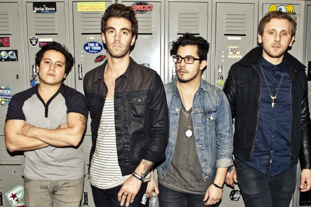 American Authors perform at the Red Bull Sound Space at 106.7 Th